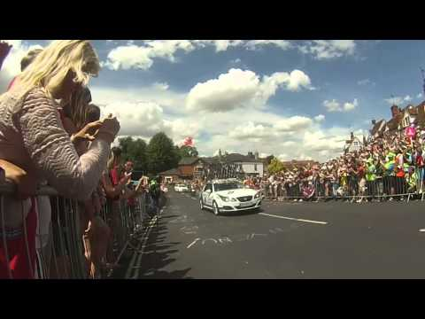 Tour de France 2014 Stage 3 - Finchingfield - Break Away Duo