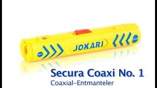 Jokari - Entmantler Secura Coaxi No. 1 / Cable Stripper Secura Coaxi No. 1