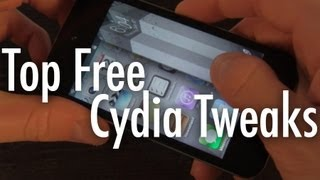 Top 5 Free Cydia Tweaks - 2012
