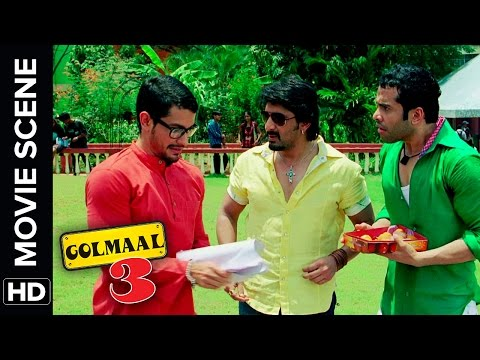 Arshad Warsi Sells Exam Papers | Golmaal 3 | Comedy Movie Scene thumbnail