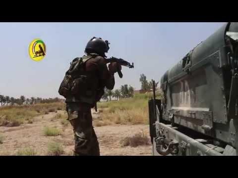 "Iraqi PMU Media - Liberation of Fallujah Operation ""15th of Shaban"" deployment in Albu Fid"