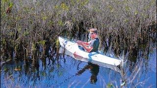 Origami Kayak Fishing SECRET Swamp -- Homecoming Tour Pt. 5