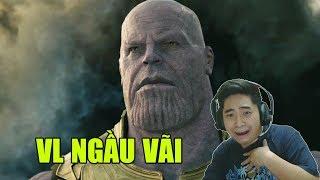 Hìu Béo REACTION | Avengers: Infinity War Official Trailer (VIDEO DÀI VCL)