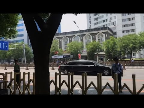 Raw: Kim Jong Un Makes Official Visit to Beijing