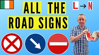 Road Signs Ireland - A Complete Guide.