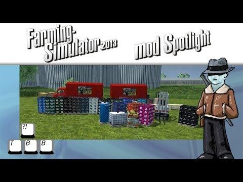 Farming Simulator 2013 Mod Spotlight - S5E31 - Forklift Simulator