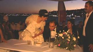 Our Wedding at Bosphorus Cruise in Istanbul , Wedding in Turkey,  Marriage