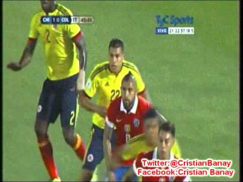 Chile 1 Colombia 1 (CX12 Radio Oriental) Eliminatorias a Rusia 2018