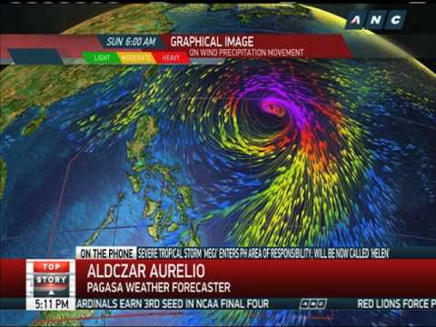 Tropical storm 'Helen' enters Philippines, threatens Batanes
