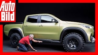 Mercedes X-Klasse (2017) - Erster Pick-up mit Stern / New / Preview/ Review