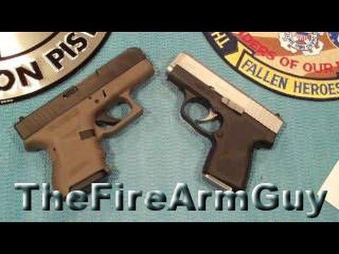 Glock 26 vs Kahr CM9 - TheFireArmGuy
