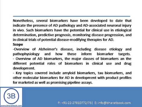 PharmaFocus Biomarkers in Alzheimers Disease