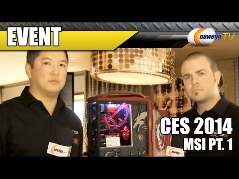 MSI Video Cards @ CES 2014 - Newegg TV