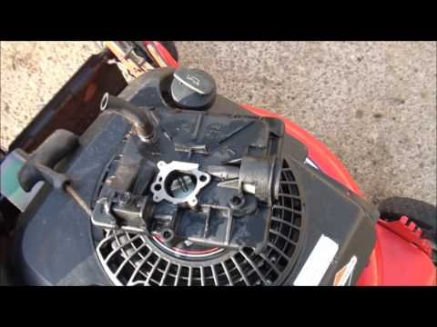 Briggs and Stratton LAWNMOWER PRIMER BULB PROBLEMS. Won't PRIME. WILL NOT Cold START. HOW TO FIX