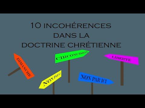 10 incohérences dans la doctrine chrétienne