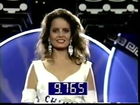 Cecilia Bolocco ( Chile ), Miss Universe 1987 - Evening Gown Competition