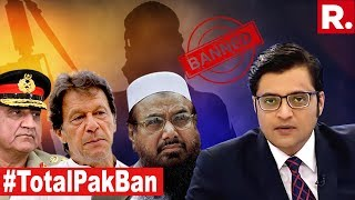 India Demands Complete Ban Of Pakistan | The Debate With Arnab Goswami