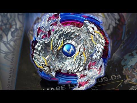 Nightmare Longinus .Ds Starter (B-97) Unboxing & Review! - Beyblade Burst God/Evolution!