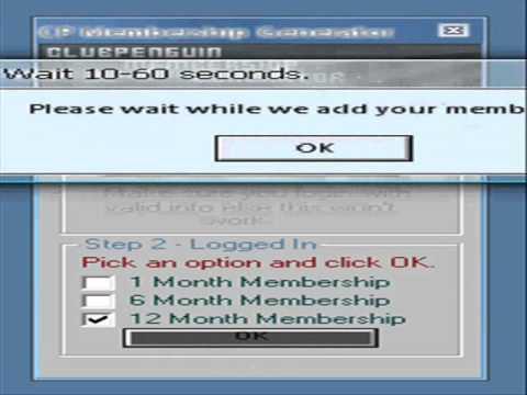 Club Penguin Membership Generator 2 [bY MrComputer1asd]