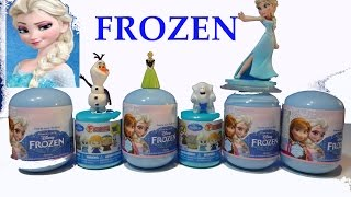 Disney FROZEN 2 New FASHEMS Surprise Eggs Surprise SNOWMAN SQUISHY La Reine des Neiges 2 アナと雪の女王