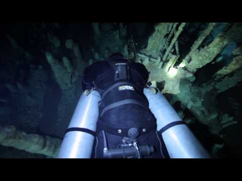 Cave diving in Mexican Cenotes with STEALTH 2.0 sidemount harness