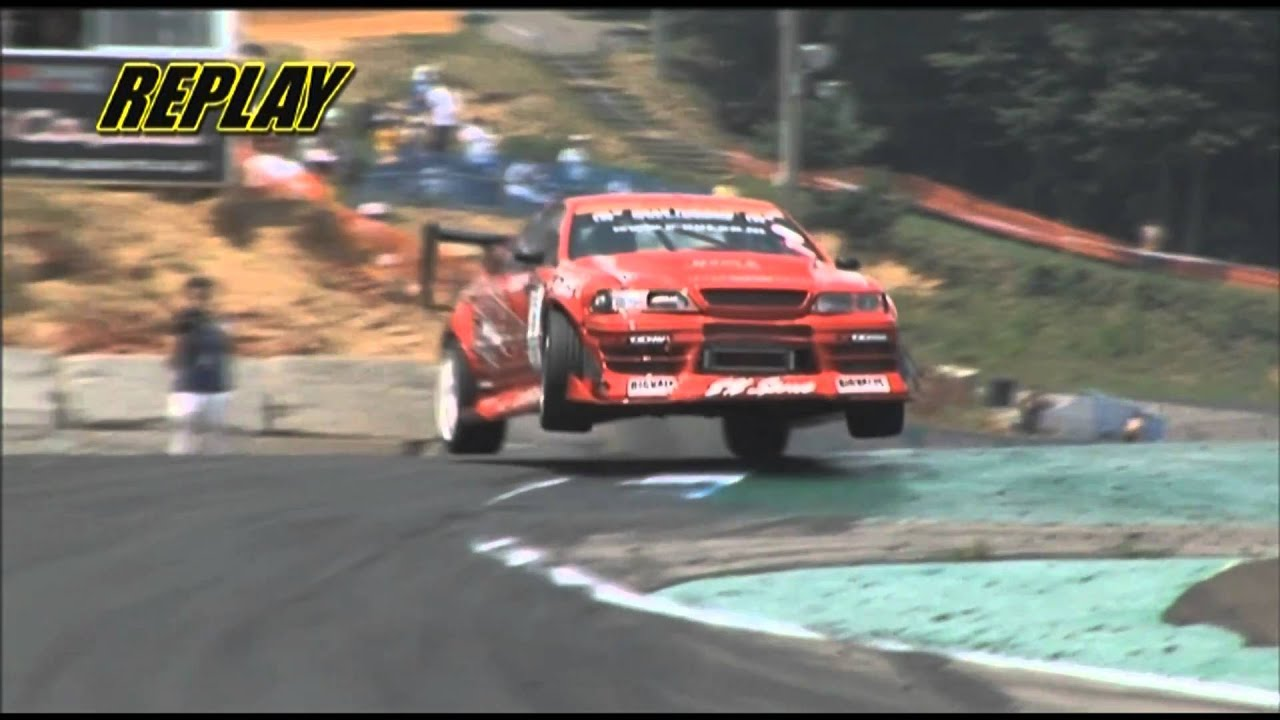 Daigo Saito S Insane Jump Drift At Ebisu Youtube