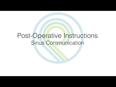 Post-Op Instructions: Sinus Communication   Oral Surgery & Dental Implant Center of Panama City