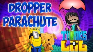 Minecraft Mods : Think's Lab - Dropper Parachute! [Minecraft Roleplay]