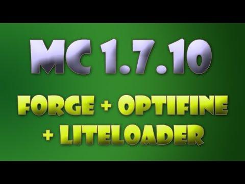 Návod: Forge + Optifine + Liteloader (1.7.10)