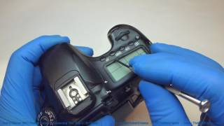Canon 60D Repair Series - Broken LCD Glass Replacement