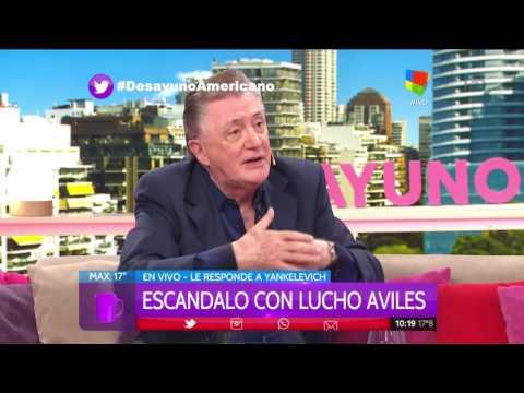 Lucho Avilés dio la cara: Yo cazo para comer