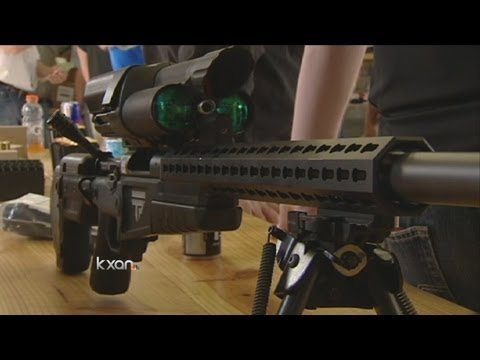 Austin company develops long-range rifle