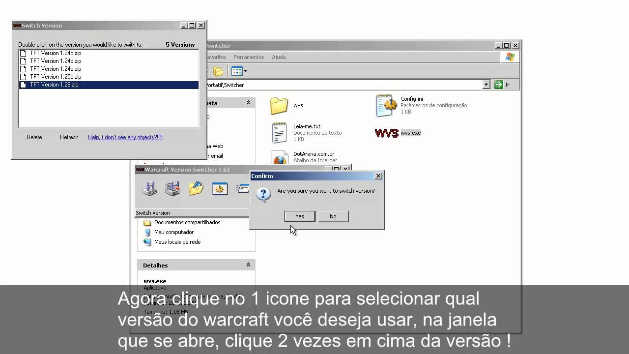Como utilizar o Warcraft Version Switcher (WVS). На главную страницу. dear
