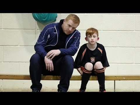SURPRISE VISIT | Neil Lennon surprises nine-year-old fan at training!