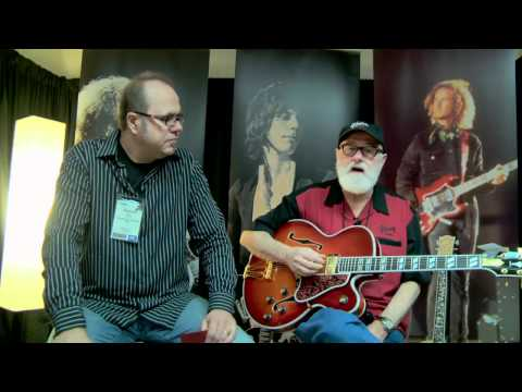 NAMM 2012• Mike McGuire of the Gibson Custom Crimson Division Interview • Wildwood Guitars