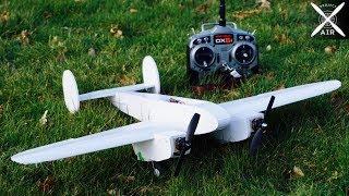 TWIN ENGINE RC Plane (Build Video)