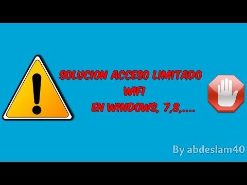 ACCESO LIMITADO EN WINDOWS 7 SOLUCION FUNCIONA 2014