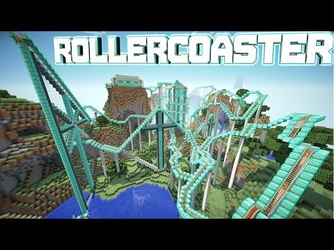 Minecraft Pocket Edition 0.8.1 RollerCoaster