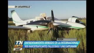 Ejército de Guatemala y narcos se enfrentan en Petén