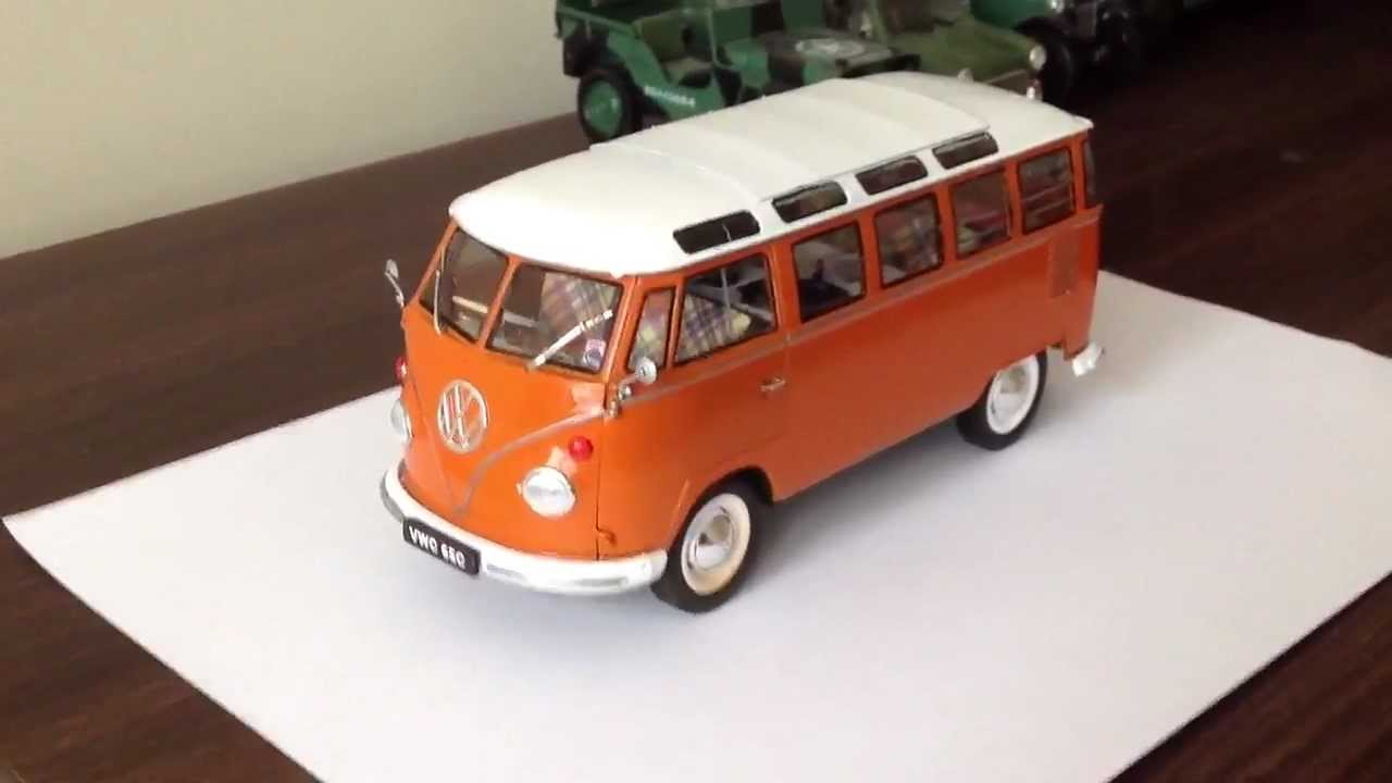 Revell 1 24 Vw Camper Van Right Hand Drive Kit Orange