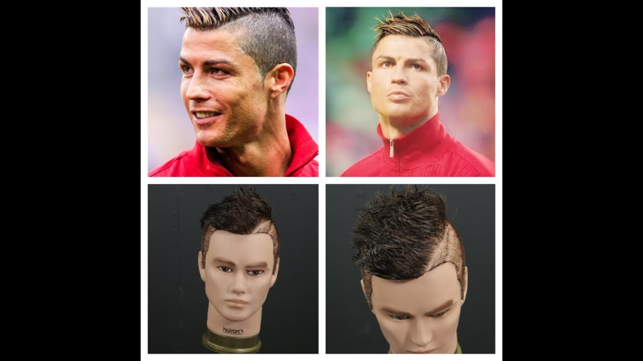 Cristiano ronaldo haircut tutorial