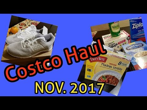 Costco Haul ** November 2017
