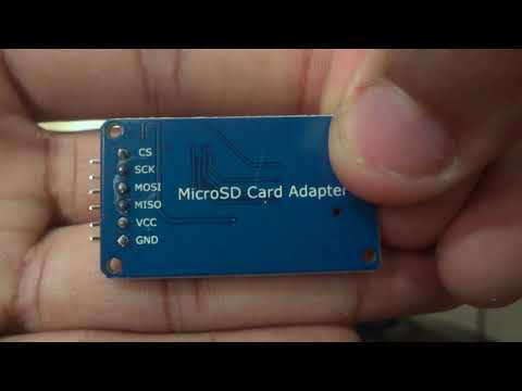 Micro SD card module review bought from gearbest