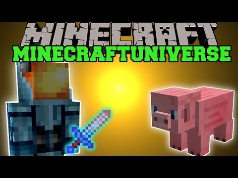 Minecraft: MINECRAFTUNIVERSE MOD (ROCKETS. JETPACK. & JEFFEREY!) Team Crafted Mod Showcase