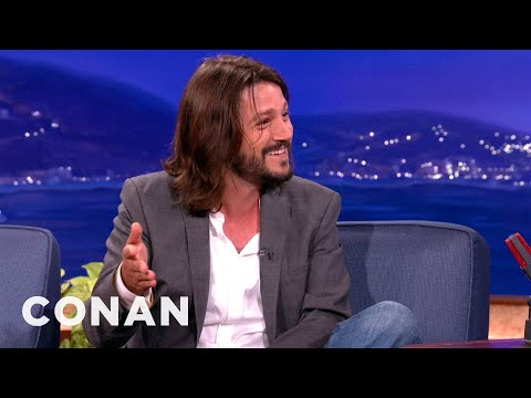Diego Luna Teaches Conan Survival Spanish