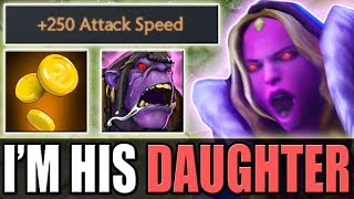 New Hero - Golden Maiden [+250 Attack Speed + Alchemist Ulti and Passive] Dota 2 Ability Draft