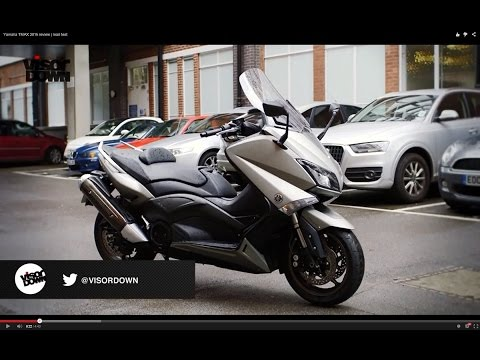 Yamaha TMAX 2015 Review Road Test   Visordown Motorcycle Reviews