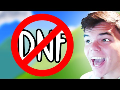 How Not To Get The DNF (Happy Wheels Funny Moments)