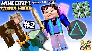 Lets play minecraft story mode # 2: nee Chase, geen driehoeken !!!! (Episode one)