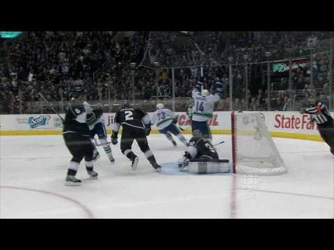 Henrik Sedin 5-4 Game Winner - Canucks At Kings - R1G4 2010 Playoffs - 04.21.10 - HD Video